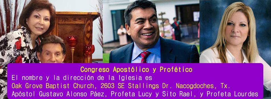 Congreso apostolico nacogdoches
